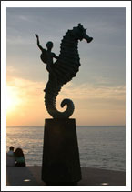 Sea Horse, a simble of Puerto Vallarta